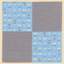 Load image into Gallery viewer, Furoshiki Cotton 50cm - Pasta - 京都あさひ屋
