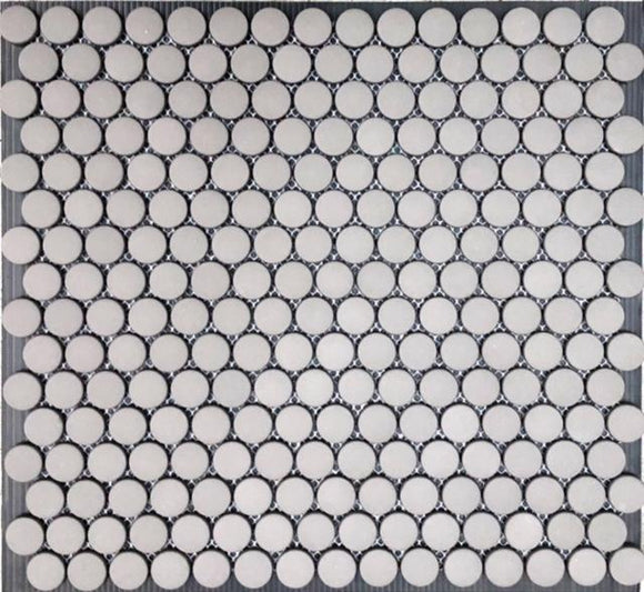 Glass Dots Grey 20mm 315x290 (Clearance)