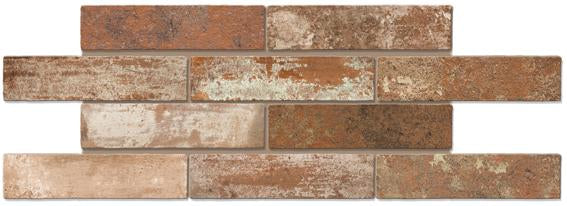 New York Brick Studio Red 60x250 (CLEARANCE)