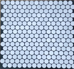 Glass Dots Light Grey 20mm 315x290 (Clearance)