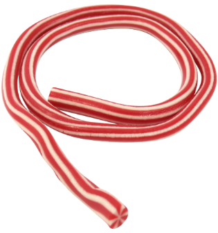 Giant red & White Cables