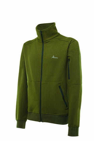 KONUSTEX - Felpa KONUSTEX LYSEO in colore verde #265 - Caccia Outdoor Ciclismo Fitness, Maglie - OnTheRoad.shop