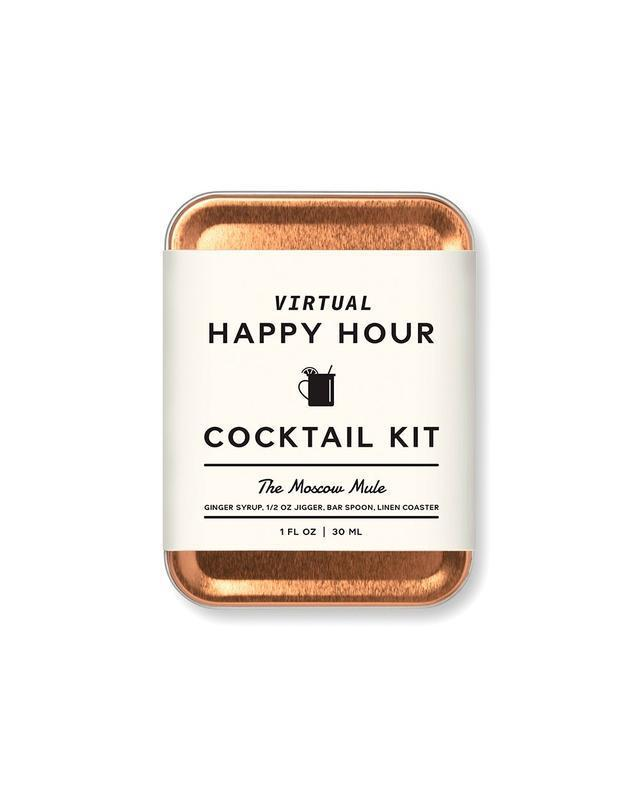 Moscow Mule Virtual Happy Hour Cocktail Kit