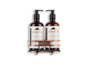 Beekman Honey & Orange Blossom Hand Care Duo Caddy Set