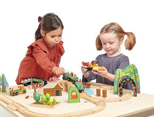 Load image into Gallery viewer, Wild Pines Train Wooden Toy Set