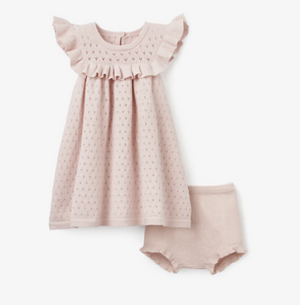 Dress Flutter with Bloomer Pink