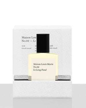 No.02 Le Long Fond Perfume Oil with Gift Box 0.5oz