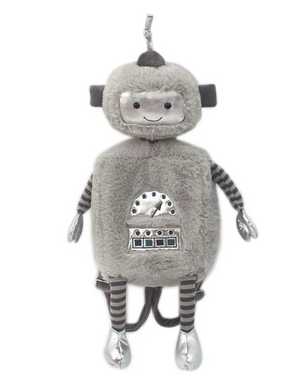 Load image into Gallery viewer, Radford Robot Plush Backpack