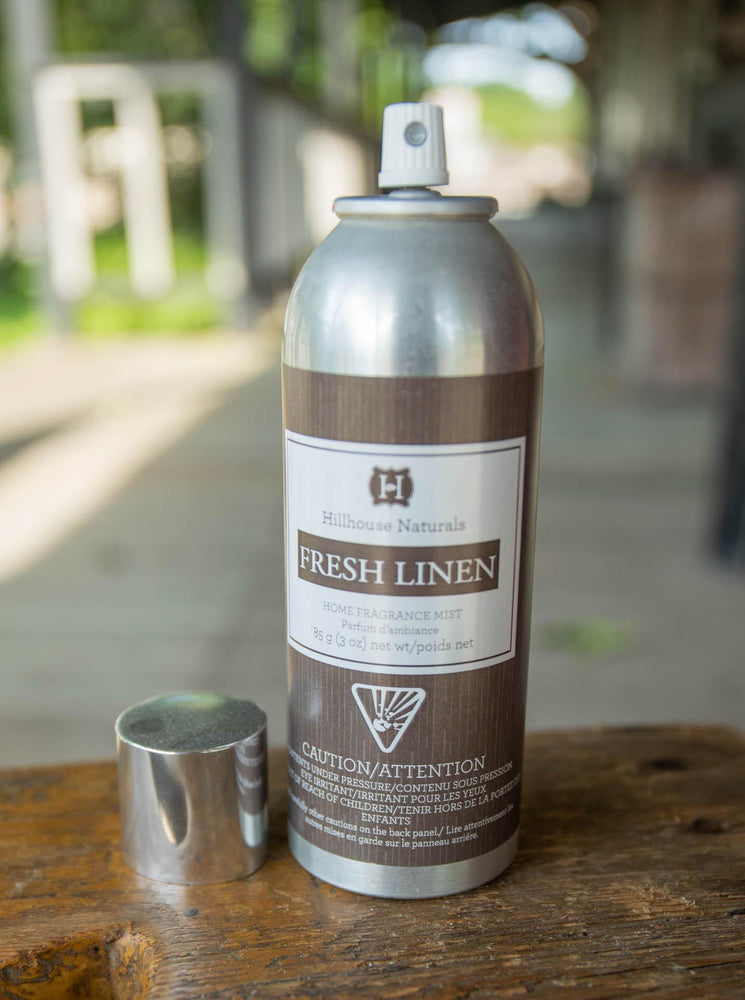 Load image into Gallery viewer, Hillhouse Naturals - Fresh Linen Fragrance Mist