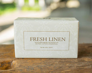 Hillhouse Naturals - Fresh Linen French Milled Soap