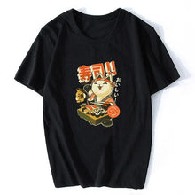 "Load image into Gallery viewer, Short-Sleeve T-Shirt ""JAPAN SUSHI "" + Other 13 Fantasies"