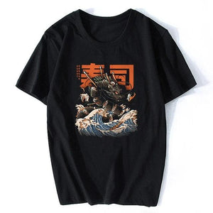 "Short-Sleeve T-Shirt ""JAPAN SUSHI "" + Other 13 Fantasies"