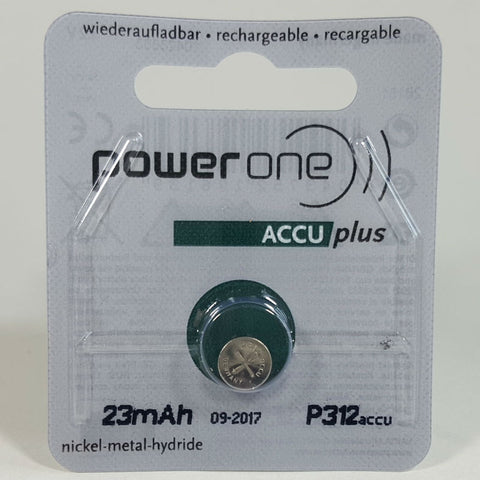 Powerone ACCU Plus Size 312 Rechargeable Battery