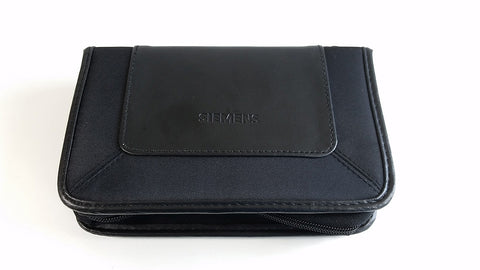 Siemens Leather Carrying Case for Hearing Aids