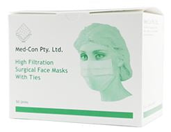 Med-Con Face Mask (with Ties) Level 1