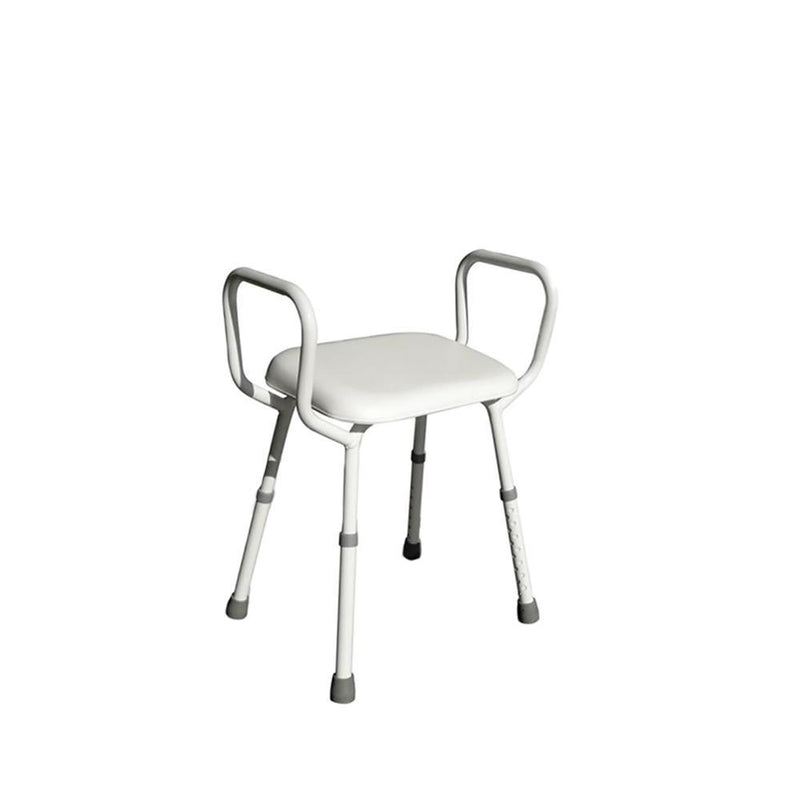 BetterLiving Aluminium Shower stool with Padded Seat