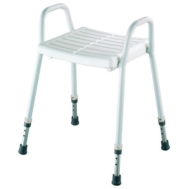 BetterLiving Aluminium Shower Stool with Clip-On Seat