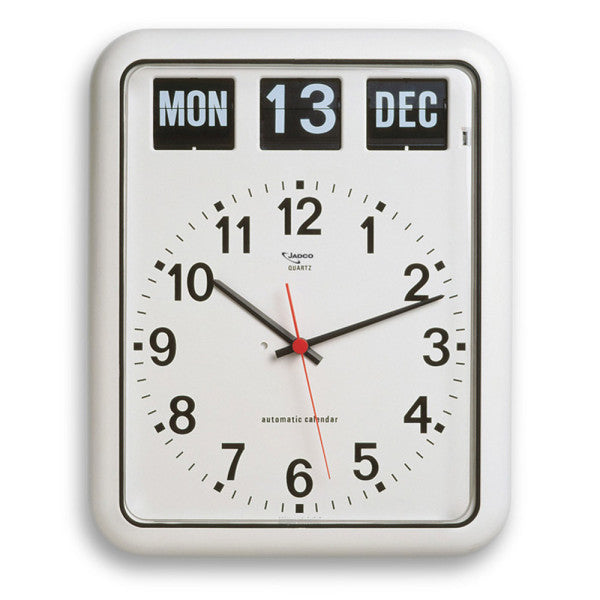 Jadco Wall Clock with Calendar