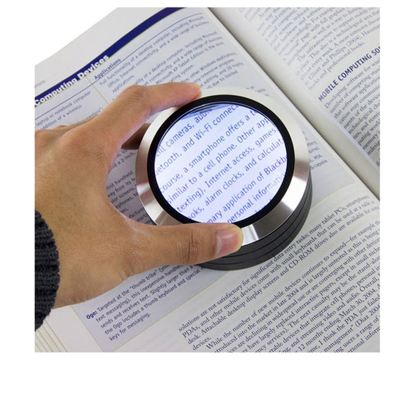 13cm Circular Magnifier with LED Light