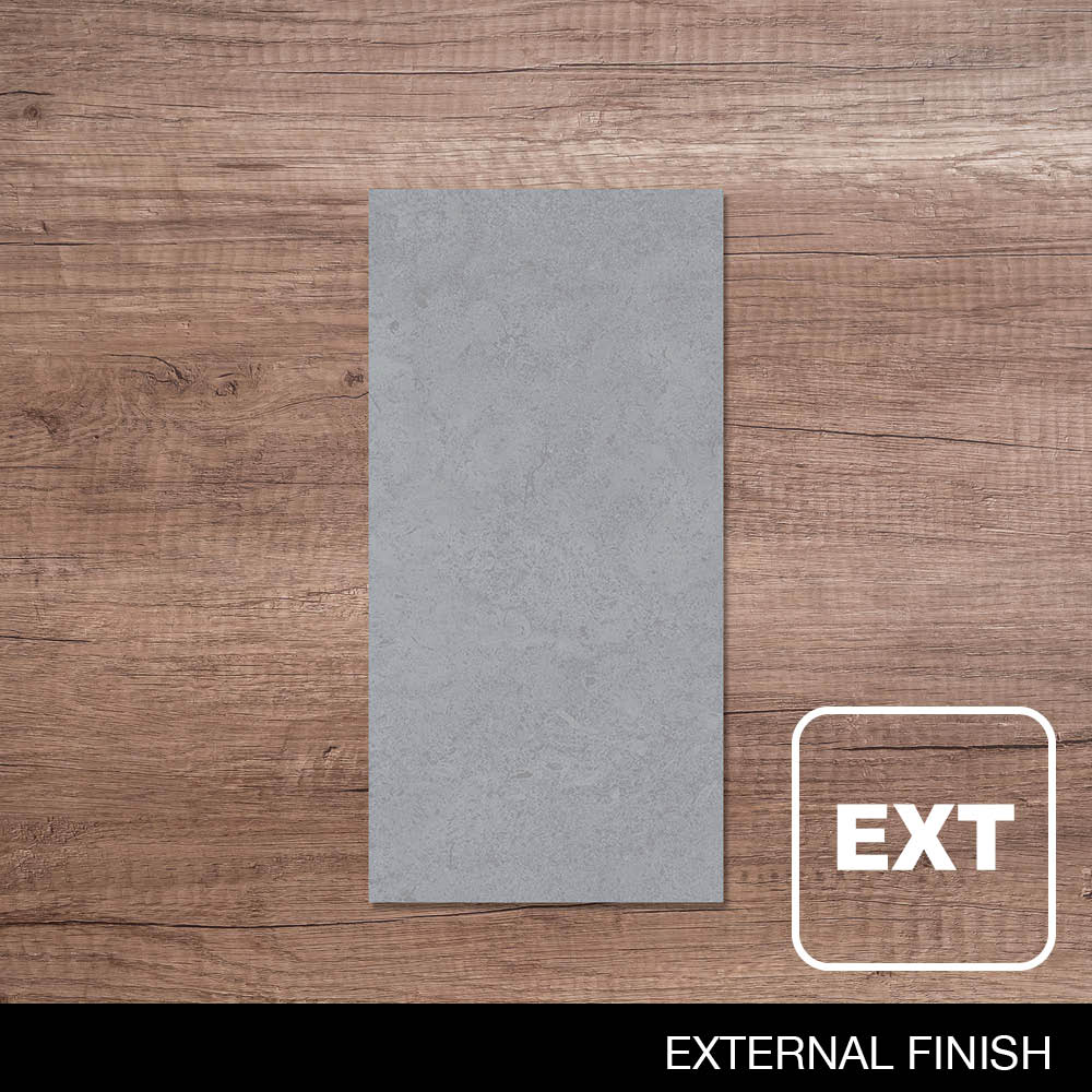 300x600mm Stonewash Grey Grit