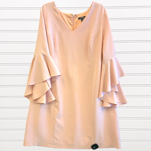 Primary Photo - BRAND: ROZ AND ALI STYLE: DRESS SHORT LONG SLEEVE COLOR: DUSTY PINK SIZE: 20 SKU: 117-117120-23239