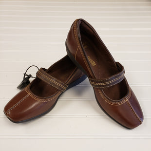 Primary Photo - BRAND: CLARKS STYLE: SHOES FLATS COLOR: BROWN SIZE: 7.5 SKU: 117-117120-20498