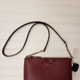 Primary Photo - BRAND: KATE SPADE STYLE: HANDBAG DESIGNER COLOR: MAROON SIZE: SMALL SKU: 117-11783-98586
