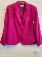 Primary Photo - BRAND: CALVIN KLEIN <BR>STYLE: BLAZER JACKET <BR>COLOR: MAGENTA <BR>SIZE: 18 <BR>OTHER INFO: NWT <BR>SKU: 117-117120-21445