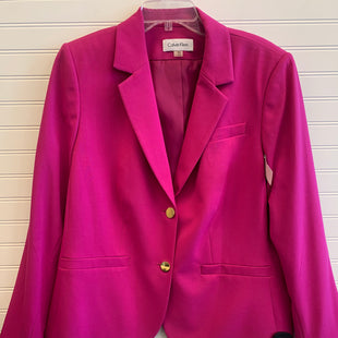 Primary Photo - BRAND: CALVIN KLEIN STYLE: BLAZER JACKET COLOR: MAGENTA SIZE: 18 OTHER INFO: NWT SKU: 117-117120-21445
