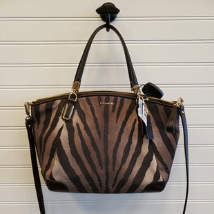 Primary Photo - BRAND: COACH STYLE: HANDBAG DESIGNER COLOR: ANIMAL PRINT SIZE: MEDIUM SKU: 117-117120-22629