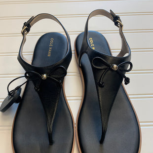 Primary Photo - BRAND: COLE-HAAN STYLE: SANDALS FLAT COLOR: BLACK SIZE: 10 SKU: 117-11711-189756