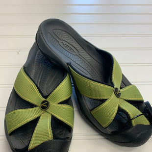 Primary Photo - BRAND: KEEN STYLE: SANDALS FLAT COLOR: GREEN SIZE: 6.5 OTHER INFO: AS IS SKU: 117-117103-56854