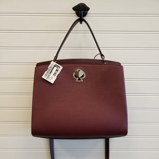 Primary Photo - BRAND: KATE SPADE STYLE: HANDBAG DESIGNER COLOR: MAROON SIZE: MEDIUM OTHER INFO: ROMY $378 SKU: 117-11783-98430