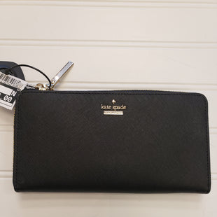 Primary Photo - BRAND: KATE SPADE STYLE: WALLET COLOR: BLACK SIZE: LARGE SKU: 117-11711-184485