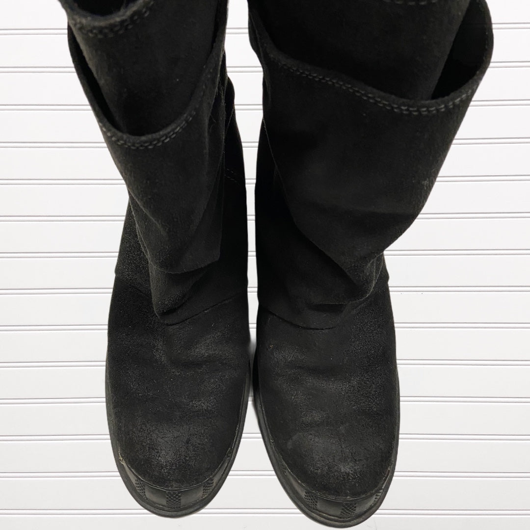 Photo #1 - BRAND: SOREL <BR>STYLE: BOOTS ANKLE <BR>COLOR: BLACK <BR>SIZE: 8 <BR>OTHER INFO: TORONTO WEDGE SNOW BOOT RETAIL $180 <BR>SKU: 117-117120-20827