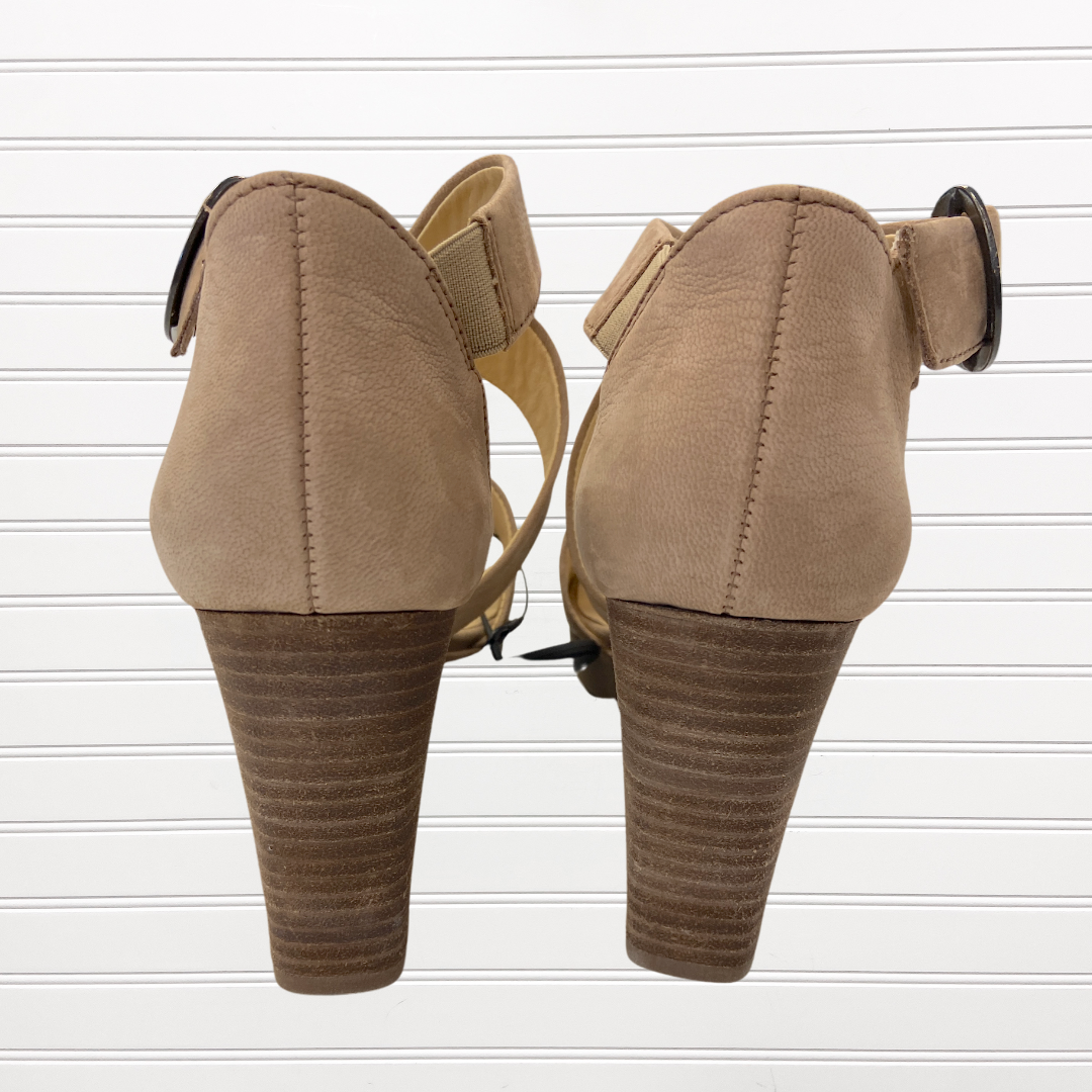 Photo #2 - BRAND:   CMC <BR>STYLE: SANDALS HIGH <BR>COLOR: TAN <BR>SIZE: 9 <BR>OTHER INFO: PAUL GREEN - <BR>SKU: 117-117120-18212