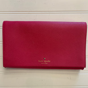 Primary Photo - BRAND: KATE SPADE STYLE: HANDBAG DESIGNER COLOR: RED SIZE: SMALL OTHER INFO: CLUTCH SKU: 117-11711-187303