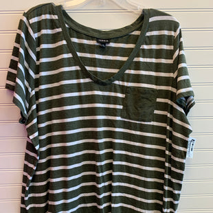 Primary Photo - BRAND: TORRID STYLE: TOP SHORT SLEEVE COLOR: STRIPED SIZE: 3X SKU: 117-117136-11951