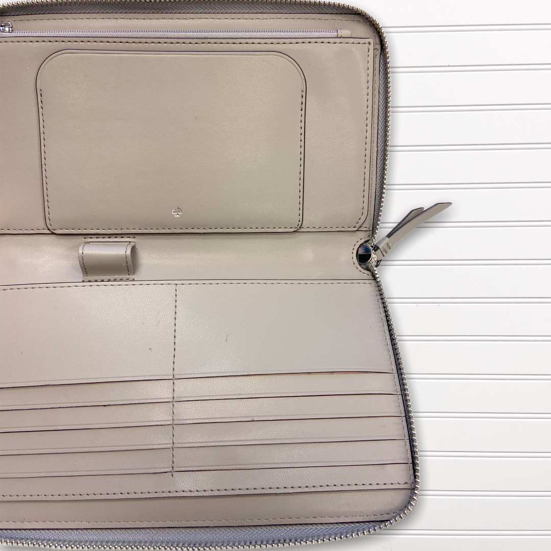 Photo #2 - BRAND: KATE SPADE <BR>STYLE: WALLET <BR>COLOR: TAUPE <BR>SIZE: LARGE <BR>OTHER INFO: AS IS <BR>SKU: 117-11711-178758