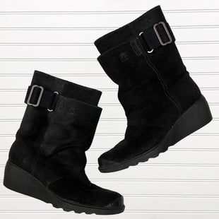 Primary Photo - BRAND: SOREL STYLE: BOOTS ANKLE COLOR: BLACK SIZE: 8 OTHER INFO: TORONTO WEDGE SNOW BOOT RETAIL $180 SKU: 117-117120-20827