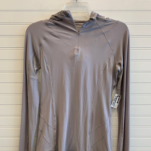 Primary Photo - BRAND: LULULEMON STYLE: ATHLETIC TOP COLOR: GREY SIZE: 4 SKU: 117-117120-25767