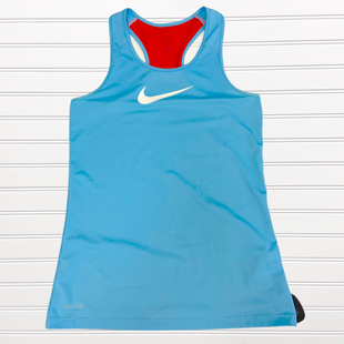 Primary Photo - BRAND: NIKE STYLE: ATHLETIC TANK TOP COLOR: BLUE SIZE: L SKU: 117-11711-181960