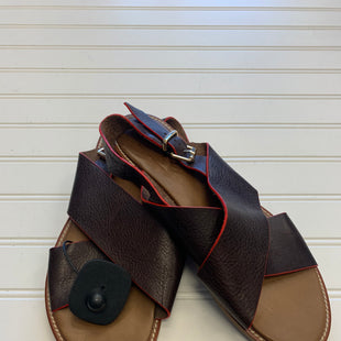 Primary Photo - BRAND:   CMC STYLE: SANDALS FLAT COLOR: LEATHER SIZE: 9.5 OTHER INFO: MIZ MOOZ - SKU: 117-117136-5990