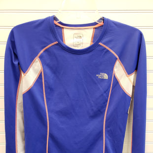 Primary Photo - BRAND: NORTHFACE STYLE: ATHLETIC TOP COLOR: BLUE WHITE SIZE: M SKU: 117-117136-10292