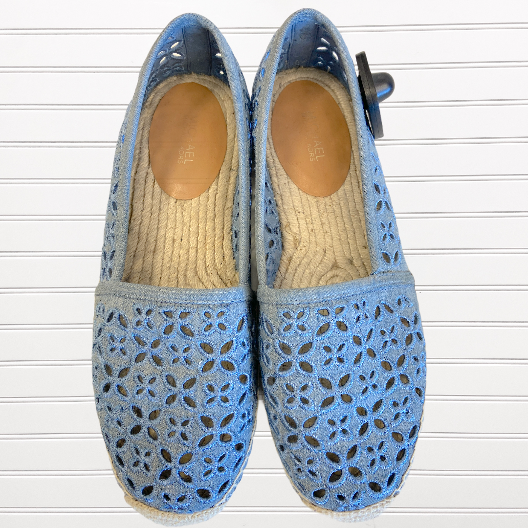 Primary Photo - BRAND: MICHAEL BY MICHAEL KORS <BR>STYLE: SHOES FLATS <BR>COLOR: BLUE <BR>SIZE: 8.5 <BR>SKU: 117-11711-173358
