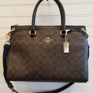 Primary Photo - BRAND: COACH STYLE: HANDBAG DESIGNER COLOR: BROWN SIZE: LARGE OTHER INFO: RETAIL $498 SKU: 117-11711-188637