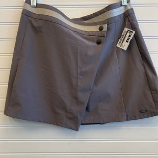 Primary Photo - BRAND: OAKLEY STYLE: ATHLETIC SKIRT SKORT COLOR: GREY SIZE: 8 SKU: 117-11711-182978