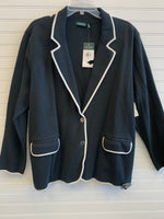 Primary Photo - BRAND: RALPH LAUREN <BR>STYLE: BLAZER JACKET <BR>COLOR: BLACK WHITE <BR>SIZE: 3X <BR>OTHER INFO: RETAIL $175 <BR>SKU: 117-117103-54051