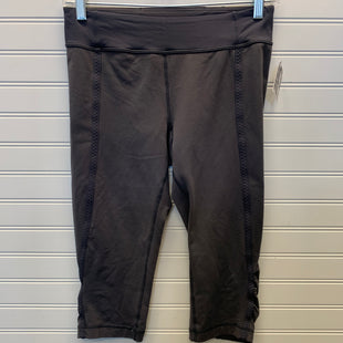 Primary Photo - BRAND: LULULEMON STYLE: ATHLETIC CAPRIS COLOR: GREY SIZE: S SKU: 117-11711-184191