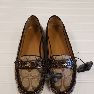 Primary Photo - BRAND: COACH STYLE: SHOES FLATS COLOR: BROWN SIZE: 8 SKU: 117-11711-176355